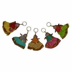 Rajasthani Dolls Keychain