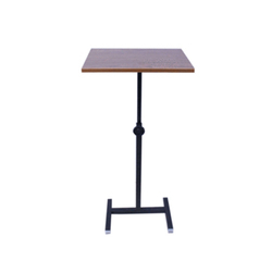 Adjustable Single Column Stand Up Desk
