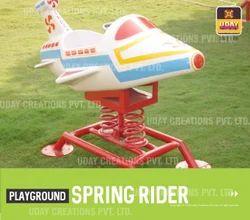 Aeroplane Spring Rider