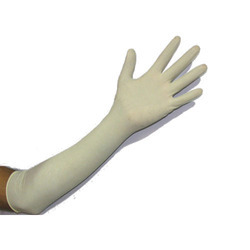 Pre Powdered Long Surgical Gloves