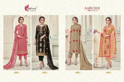 0f7ee59a49 Salwar Suit - Aaruchi-10 Georgette Designer Suits. Manufacturer from Surat
