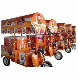 Ice Cream Van E-Rickshaw