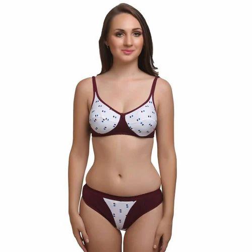 11e85e015 Cotton Bra Panty Set - Plan Bra Panty Set Manufacturer from Delhi