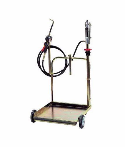 Trolley Mounted Oil Dispenser Machine