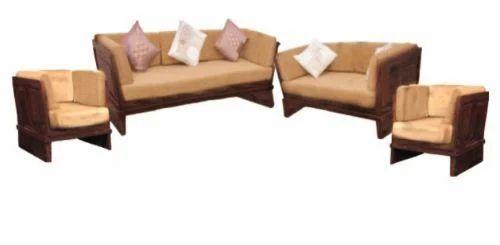 Shekhawati Wooden Sofa Set Walnut Finish - View Wooden Sofa Set ...