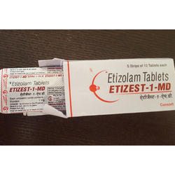 Etizolam Etizest MD 1mg Tablets