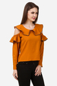 Cold Shoulder Ladies Top