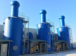 Designing of Wet Scrubber system