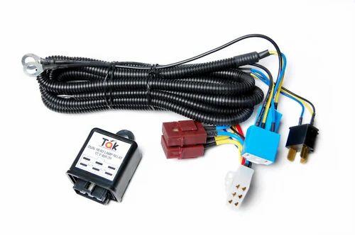automotive headlight relay with wiring harness automotive rh indiamart com