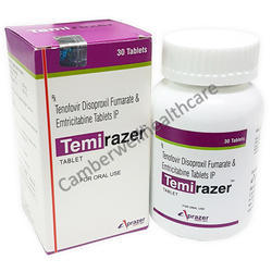 Tenofovir Disoproxil Fumarate and Emtricitabine Tablets IP