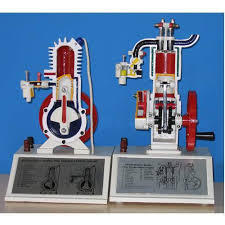 Petrol Engine Two Stroke Model