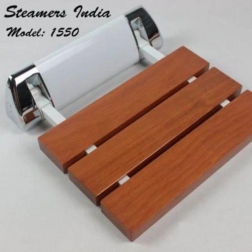 Folding Shower Seat - Wood Folding Shower Seat Manufacturer from Pune