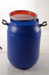 HDPE 65 Liters Open Top Drum Shorter Model