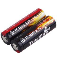 TRUSTFIRE 14500 Lithium Ion Battery