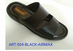 02f92bbd9ce999 Wholesaler of Mens Leather Slippers   Breeze Leather Sandals by Shri ...
