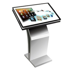 High Quality Interactive Dual Touch Screen Kiosk For Exhibition