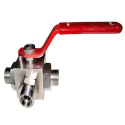 3 Way Screwed End Ball Valve