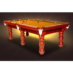 Golden Pool Table with Aeramith Ball Set
