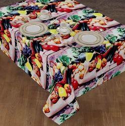 Eye Catching Digital Printed Restaurant Table Cloth