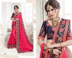 c102ecc7d6 Party Wear Sarees - Fancy Georgette Sarees Manufacturer from Surat