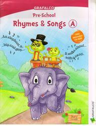 Grafalco Pre School Rhymes and Songs Book A With VCD