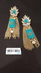 Indian Wedding Kundan Traditional Earrings
