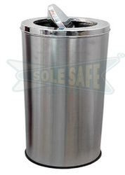Swing Stainless Steel Dustbin