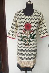 Cotton Printed Kurta