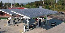 Petrol Pump Solar Power