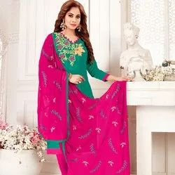 Cotton Handwork Salwar Suit