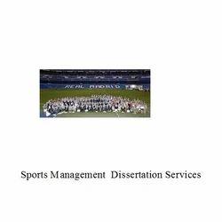 Sports Management  Dissertation Services