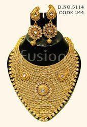 Traditional Antique Wedding Necklace Set