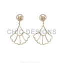 14K Gold Diamond Stud Earring