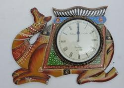 Camel Design Wooden Clocks