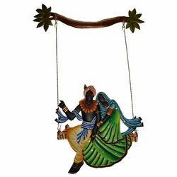 Iron Radha Krishna Hanging