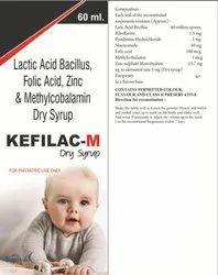 Lactic Acid Bacillus, Folic Acid, Zinc and Methylcobalamin dry syrup