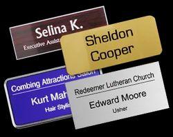Name Metal Badge