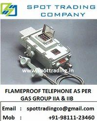 Flameproof Telephones