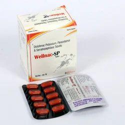 Diclofenac Paracetamol Serratiopeptidase