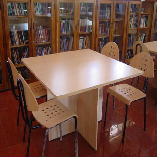Library Furniture Stylish Library Table And Chair