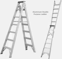 Double Purpose Ladder