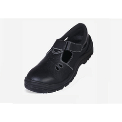 Buff Leather Safety Shoe