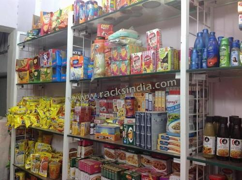 food products display racks display wall for dry fruit store