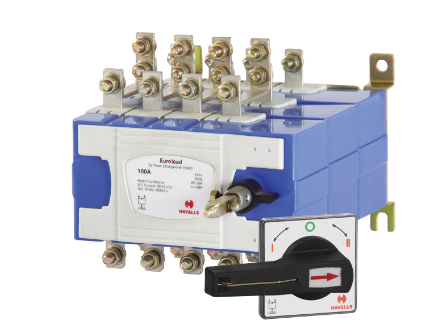 Switches - Euroload By Pass Changeover Switch Size 1 Four Pole ...
