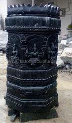 Designed Stone Pillars