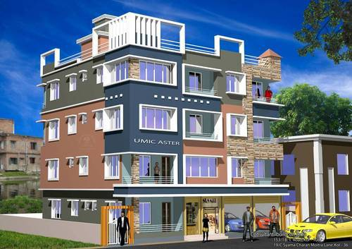 1/2/3bhk Flats near BT Road Ariadaha at UMIC Aster
