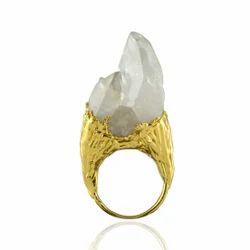 Rough Crystal Rings