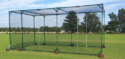 Movable Cricket Cage with 6 Inches Wheels