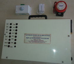 Automatic Wireless GSM Burglar Alarm Unit