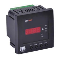Digital 3 Phase V-I-F-PF-kW Meter : CSM-M4-S3-C